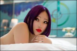 Digital Nomad - Royalty Free Image - Japanese nude model